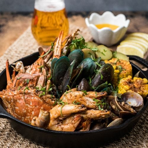 Beer Butter Spice Seafood