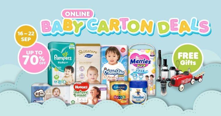 BABY CARTON DEALS