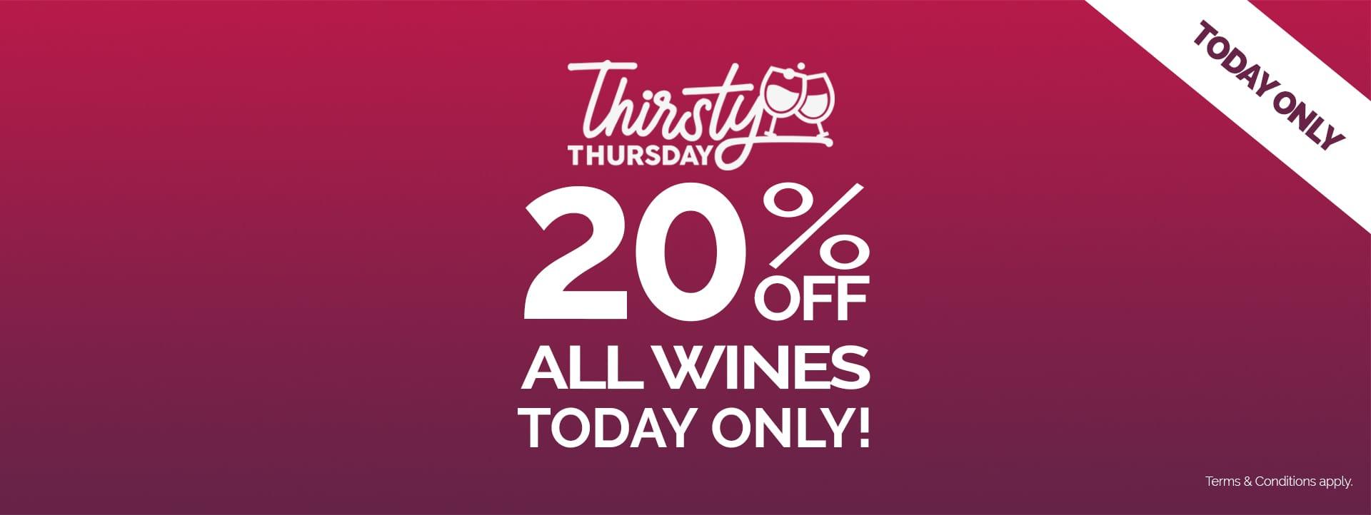 Thirsty Thursday's Back!